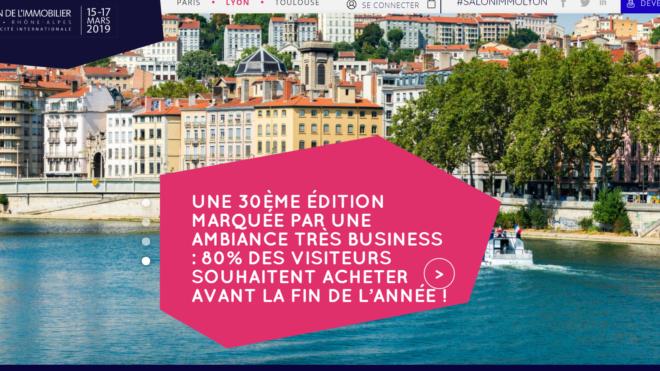 Salon de l'immobilier Lyon 2019 15-17 mars 2019